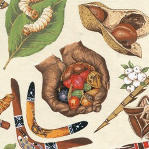 bush tucker motifs