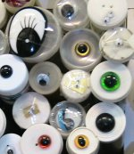 Variety of sew on eyes for soft toys