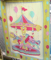 Carousel Cot Cover