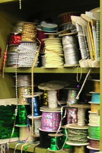 Selection of Sparkling Trims and Plus Felt