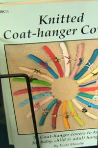 Knitted Coat Hanger Covers Book